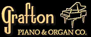 New Grafton Piano logo with piano picture